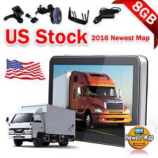 Truck GPS Navigator Navigation System Vehicle Car SAT NAV 7 Inch HD 8GB FM MP3