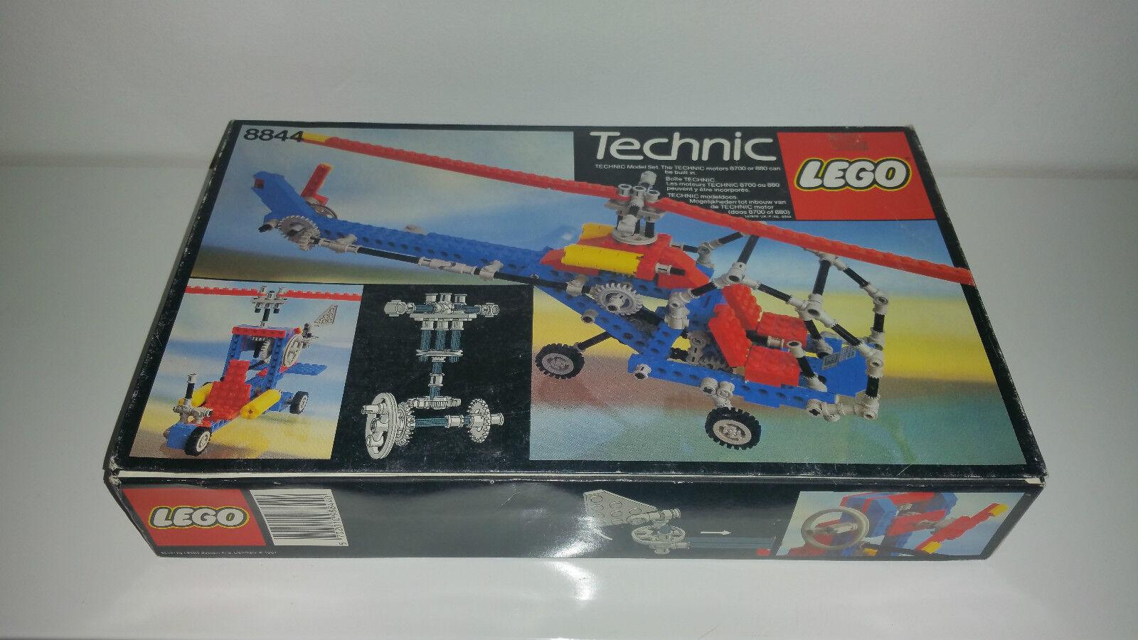 LEGO TECHNICS 8844 HELICOPTER NEW SEALED 1981 VINTAGE