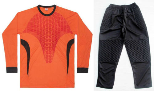 Soccer Goalie Goalkeeper Uniform Adult Men/'s Long Sleeve Jersey /& Long Pants 022