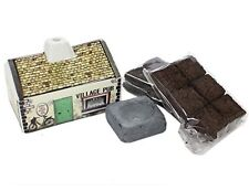 Irish Pub Turf/Peat Incense Burner Set