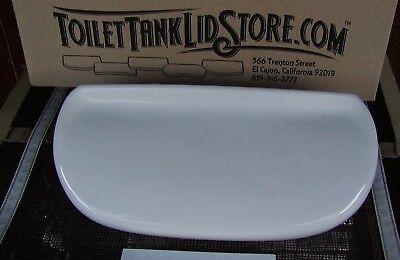 American Standard 4112 White Toilet Tank Lid 4098 Cadet