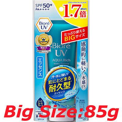 Biore UV AQUA RICH Watery Essence Sunscreen SPF50 rimited BIG size 85g not SAL