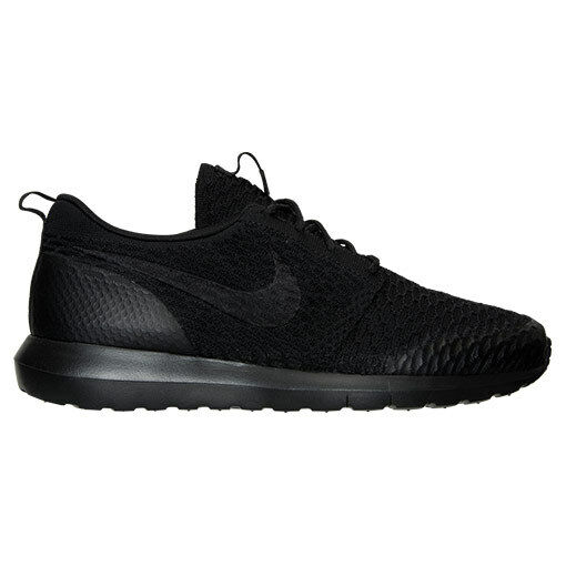 AUTHENTIC NIKE Roshe Run NM Flyknit SE All Noir Running 816531 001 Homme Taille