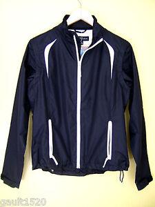 NWT-Sunice-Storm-Pack-Fletcher-Golf-Breaker-Black-Jacket-Convertible-Vest-S-168