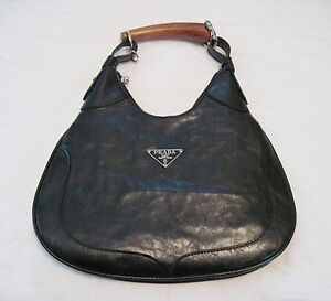 how to spot a fake prada - Prada Milano Women's Handbag Purse Evening Bag Black Color and ...