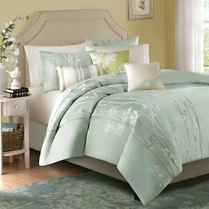 Madison-Park-Athena-Queen-Size-Bed-Comforter-Set-Bed-in-A-Bag-Seafoam-Green-F