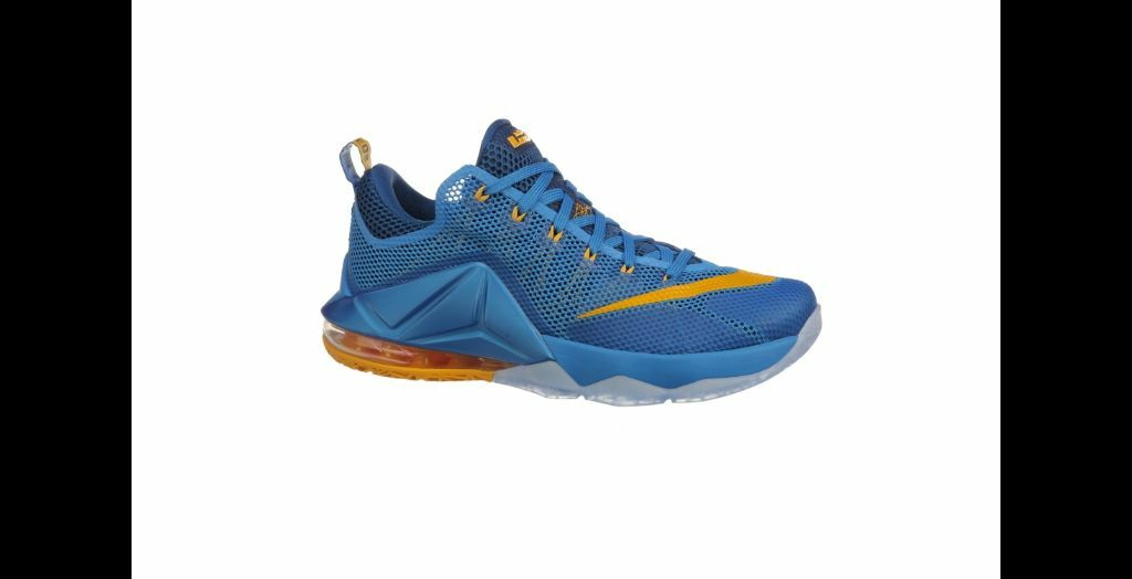 Nike Lebron James 12 Low Mens Blue Yellow Gold Teal Yellow Hot Lava SHIPS TODAY! Seasonal price cuts, discount benefits