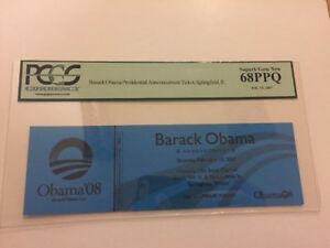 2007-Barack-Obama-Declares-for-President-Announcement-Ticket-PCGS-Superb-Gem-New