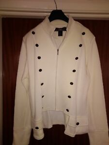18 Style Cream Tags Unworn Jsfn Military Jacket Without Size New dvXdfxw
