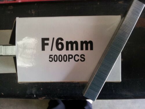 10mm length DFPXP-F Staplers SFT10XP-F F06 Staples to fit Senco SFW09-F