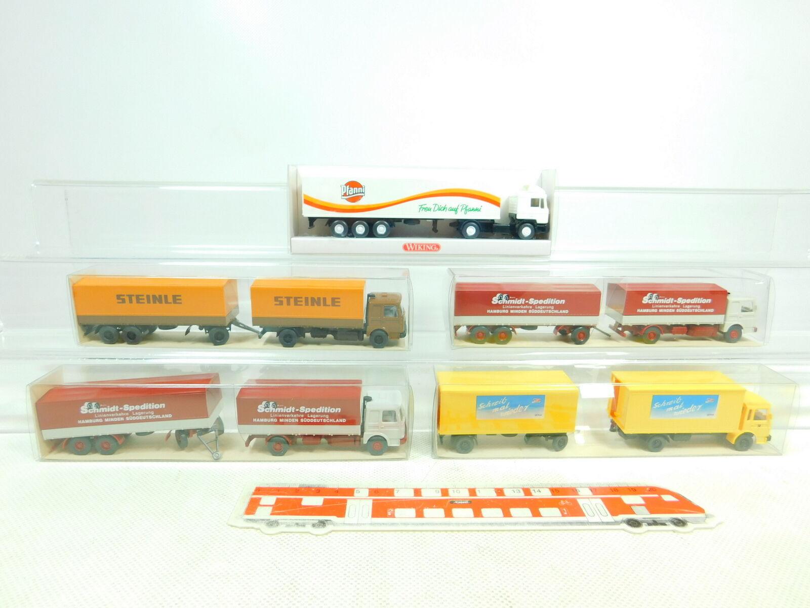 BT331-0,5  5x Wiking H0 1 87 LKW MAN  551  473 Schmidt Steinle  541, NEUWOVP  | Moderne Muster