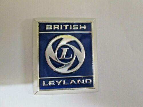 British Leyland triunfo Insignia De Casa-Cromado Metal-Hoja Inserto 725525