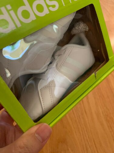 Adidas Neo VS Advantage Crib Infant Shoes Size 4K