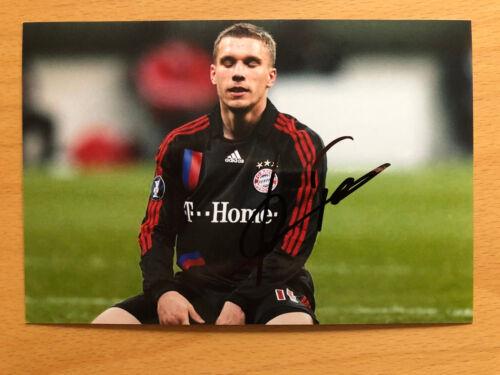 DFB-Bayern Autogramme Neuer Müller Özil Müller Ribery Robben Klose 1 aussuchen