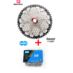 Bolany Cassette 9 Speed 11-50T  9s sunrace shimano sunshine 50t KMC  will make you satisfied