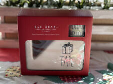 New Listingnew Rae Dunn Tape Dispenser Set With Merry Christmas Amp Happy Holidays Washi
