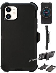 For-Apple-iPhone-11-Pro-Max-Case-Cover-Belt-Clip-Fits-Otterbox-Defender-Black