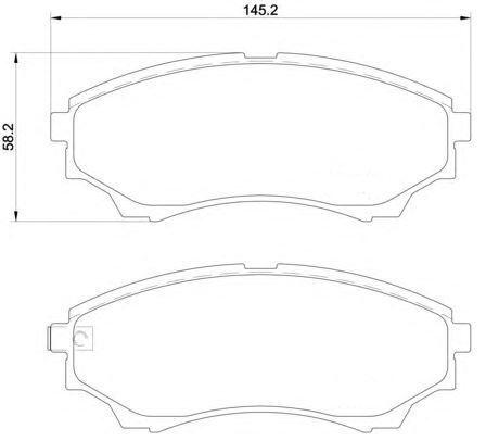 2 Disques de frein 289mm plaquettes De Freins Devant Ford ranger MAZDA bt-50 2.5
