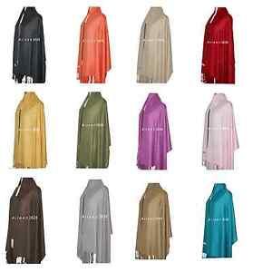 Stunning-Solid-2-Ply-Pashmina-Shawl-Wrap-scarf