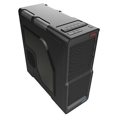 AU 3 Q7 WAVE ATX MATX COMPUTER PC CASE USB 3.0 READY WITH FRONT AUDIO MIC PORTS