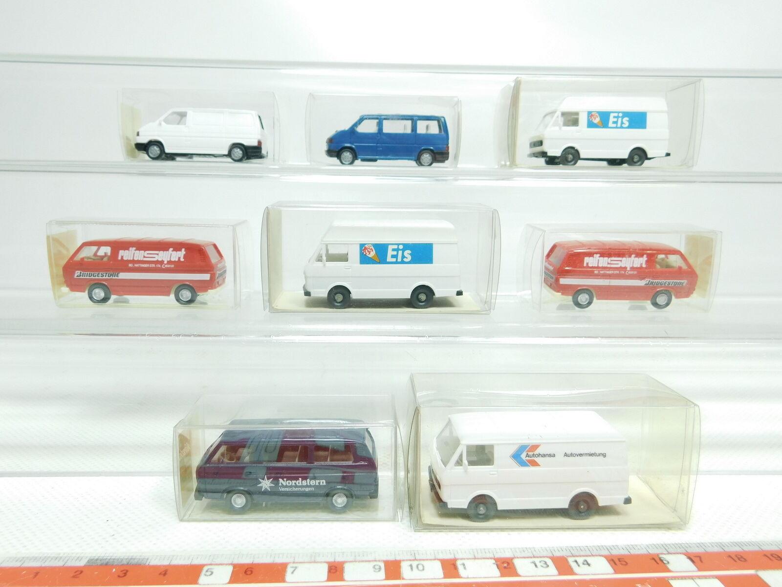 BK14-0, 5 x Wiking H0   1 87 Model VW   890+295+292+301 Ice + 300 1 + 296, NIP