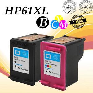 2Pk-61-XL-Ink-Cartridge-Set-for-HP-DeskJet-3000-3050-3051A-3052A-3054-3056A-3510