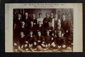 Dover-Railway-United-Football-Club-1905-6-real-photographic-postcard