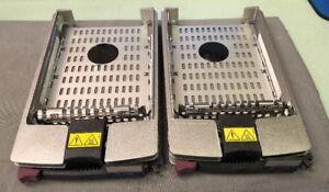 LOT-OF-2-HP-Proliant-Hard-Drive-Caddy-Tray-36-4GB-15K-Ultra320-SCSI-289241-001