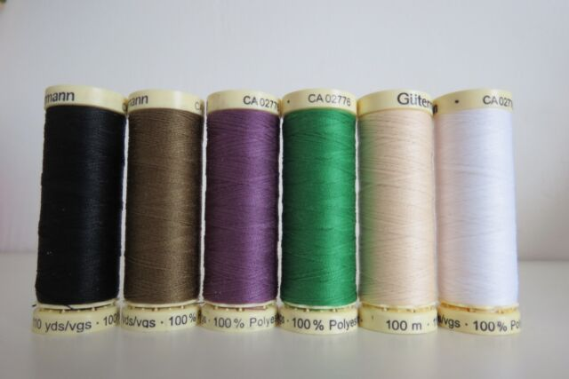 Gutermann Sew-All Polyester Thread 100m various colours