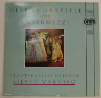 "OPERNVORSPIELE UND INTERMEZZI SILVIO VARVISO STAATSKAPELLE DRESDEN 12"" LP (g845)"