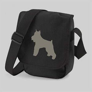 Schnauzer-Bag-Silhouette-Dog-Walkers-Bag-Shoulder-Bags-Birthday-Gift