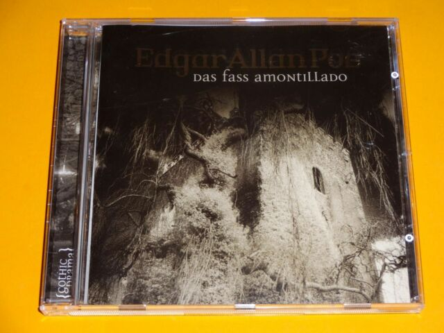*CD* Edgar Allan Poe 16 - Das Fass Amontillado * Lübbe Audio *