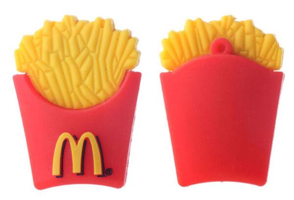 1pc 16gb M French Fries Food Usb Flash Thumb Drive Usa Shipper