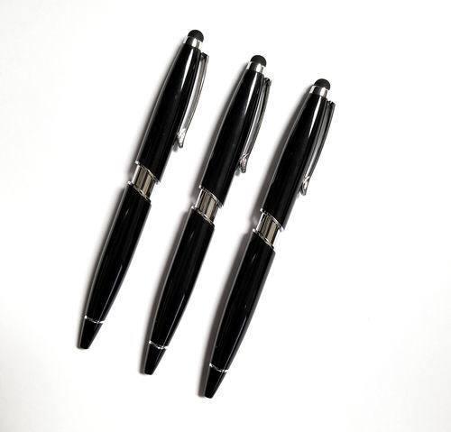 Black Bala Metal Stylus Pen W//Silver Trim /& Black Ink Lot of 100 Pcs