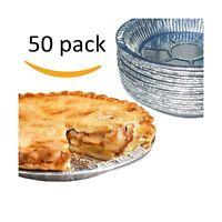 Premium 9 Aluminum Foil Pie Pans. Disposable Tin Plates For Pi... Free Shipping