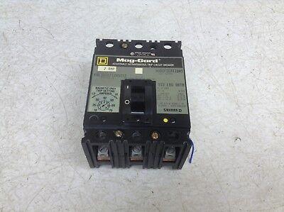 Square D FAL Circuit Breaker FAL36025    25 amp   600vac   3 pole