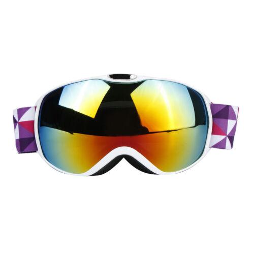 Doppellinse Anti Fog Windproof Eyewear Kids Skibrille für Skifahren,