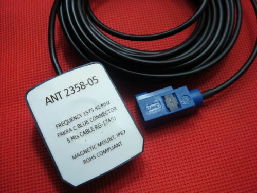 NAVIGATION GPS SATELLITE ANTENNA CHEVROLET GM GMC CADILLAC BUICK BLUE FAKRA 6ft