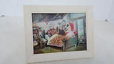 Vintage Goldilocks Varivue 3-D Lenticular Picture Framed W.C. Jones 1966