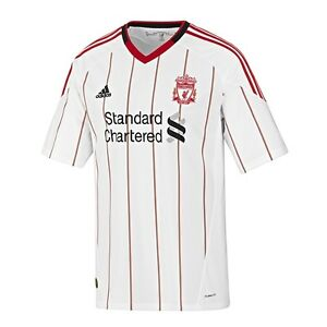 bb7dbce934f Image is loading 100-Authentic-Junior-Kids-adidas-Liverpool-Away-Shirt-