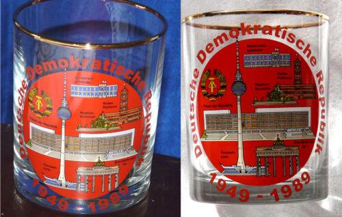 Wiskybecher 40 Jahre DDR