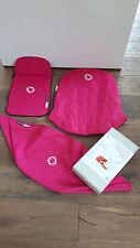 kaum benutzt: Bugaboo Cameleon Bezugsset + Buggysitzauflage, 3-teilig, pink