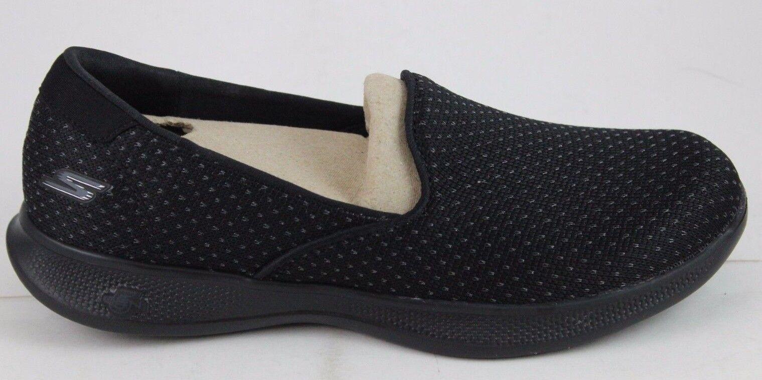 Skechers women Go Step Lite-Glitz 14724 black Goga Max Foam Nuevo
