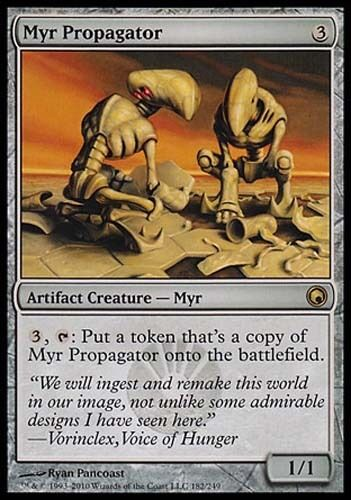 1x Myr Propagator Scars of Mirrodin MtG Magic Artifact Rare 1 x1 Card Cards
