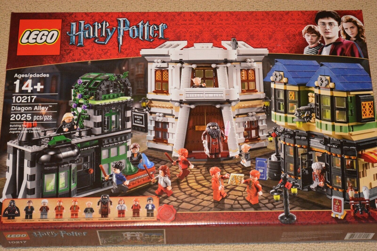 LEGO 10217 HARRY POTTER DIAGON tuttiEY - BRe nuovo, FACTORY  SEALED   best-seller