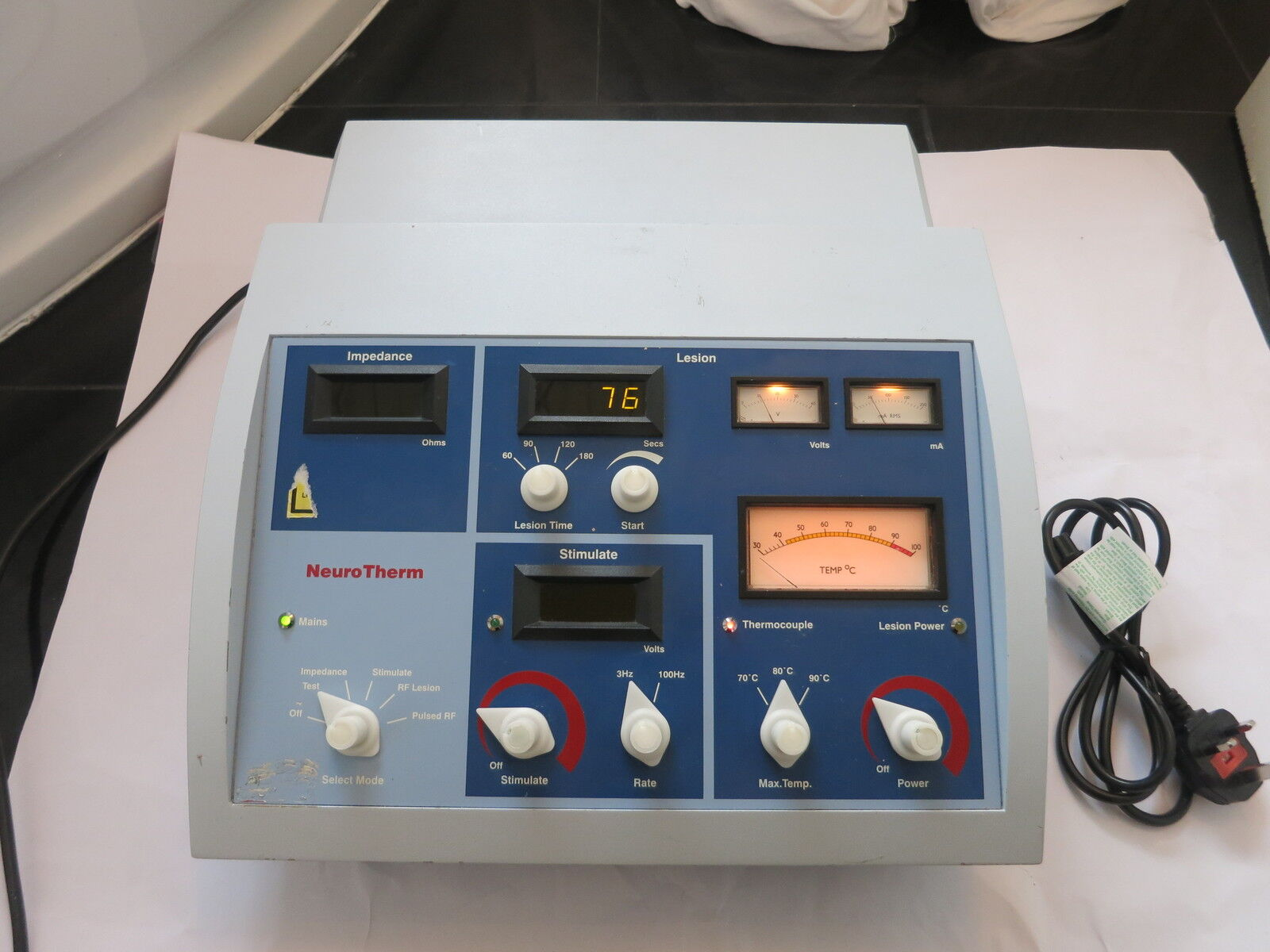 neurotherm rf machine