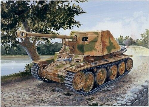Sd Kfz 138 Panzerjager Kit 1:72 Italeri It7060 Modellino