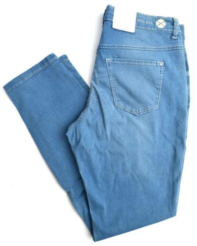 L Dream Slim Nuovo 32 Taglia 44 Stretch Tube Mac Skinny Jeans Blu Fit OxfqwwFvH5