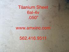 Titanium Sheet 6al 4v 050 X 12 X 12