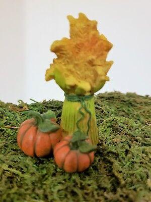 Pumpkin Fall Theme Towels Dollhouse Miniature Accessory
